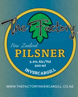 New Zealand Pilsner - 500ml - 5.2%