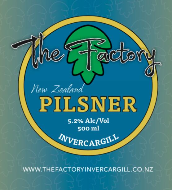 New Zealand Pilsner - 500ml - 5.2%